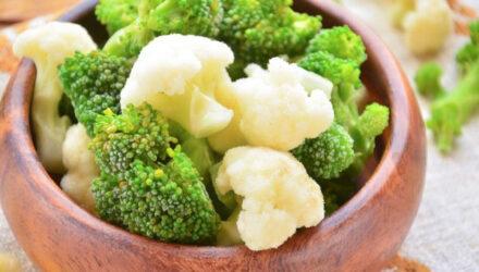 Как приготовить брокколи и цветную капусту вкусно